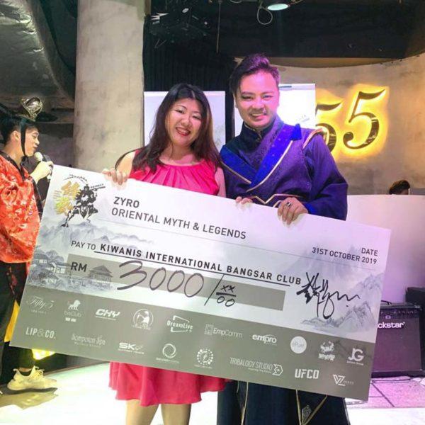 dr zyro wong charity birthday celebration donation