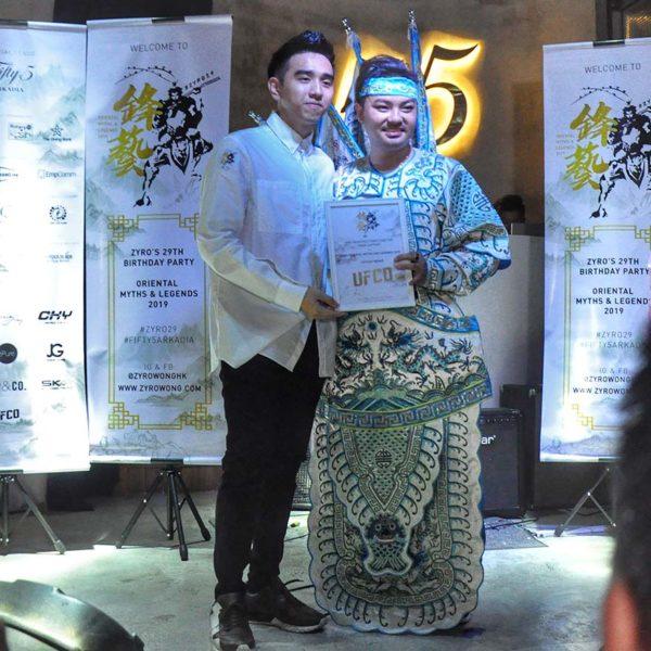 dr zyro wong charity birthday celebration sponsor