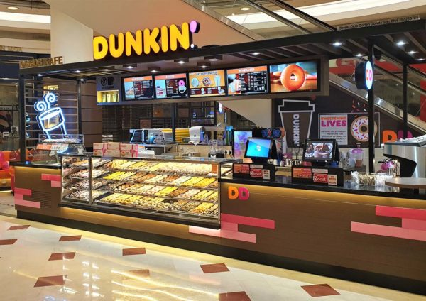 dunkin suria klcc new outlet 360 store concept