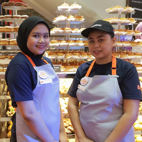 dunkin suria klcc new outlet friendly staff