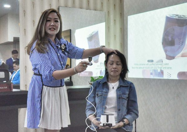 peekaboo hair salon ttdi 21st anniversary aphrozone ruby stem cell hair growth demo
