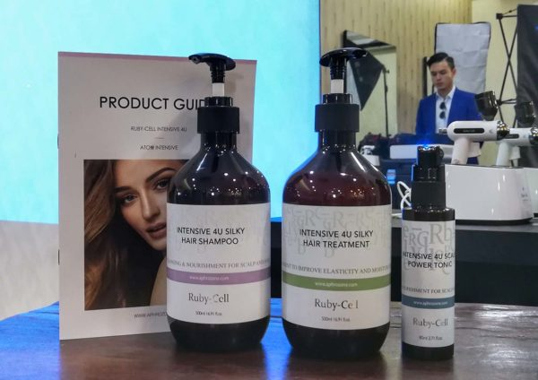 peekaboo hair salon ttdi 21st anniversary ruby stem cell hair products