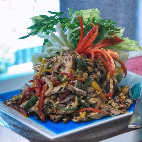royale chulan kuala lumpur mahsuri courtyard christmas new year salad