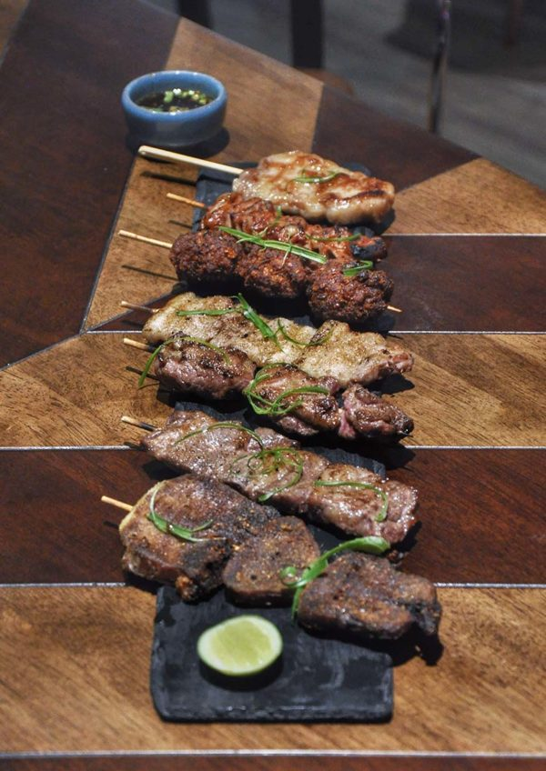 tommy thongchai thai fusion restaurant jaya one pj grilled skewers