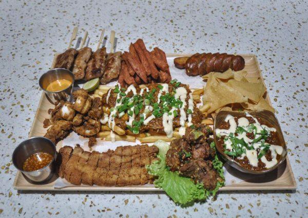 tommy thongchai thai fusion restaurant jaya one pj sharing platter