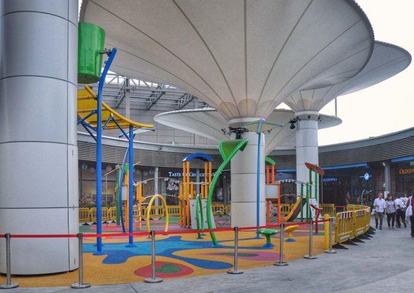 toppen shopping centre tebrau johor bahru rooftop kid playground