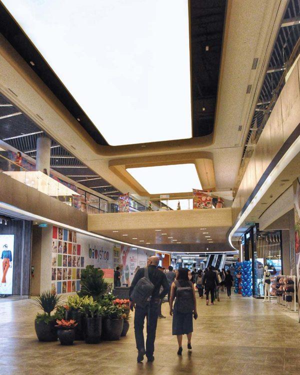 toppen shopping centre tebrau johor bahru spacious mall