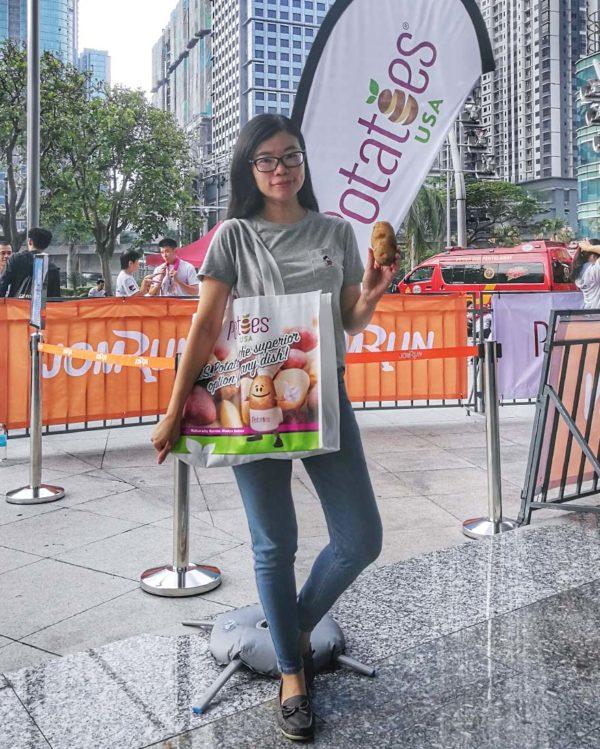 yayasan tm tower run potatoes usa ivy kam blogger