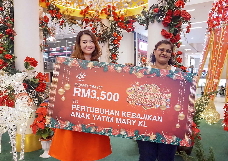 A Shimmery Christmastide @ Avenue K, Kuala Lumpur