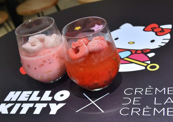 hello kitty 45th anniversary creme de la creme damansara uptown beverage