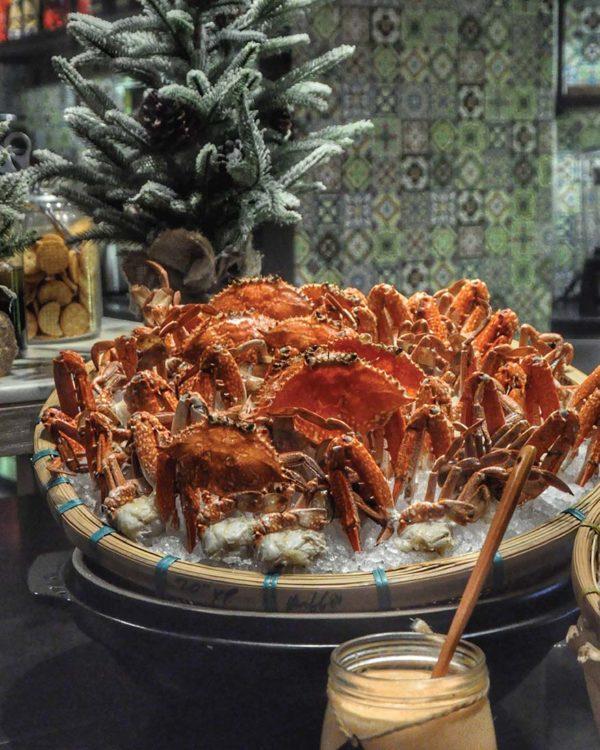 new world petaling jaya hotel pasar baru christmas buffet fresh crab