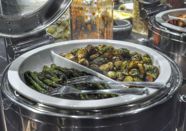new world petaling jaya hotel pasar baru christmas buffet veggies