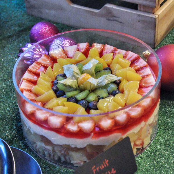 nook aloft kuala lumpur sentral christmas buffet dinner fruit triffle