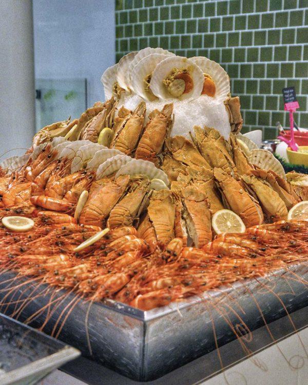 nook aloft kuala lumpur sentral christmas buffet dinner seafood on ice