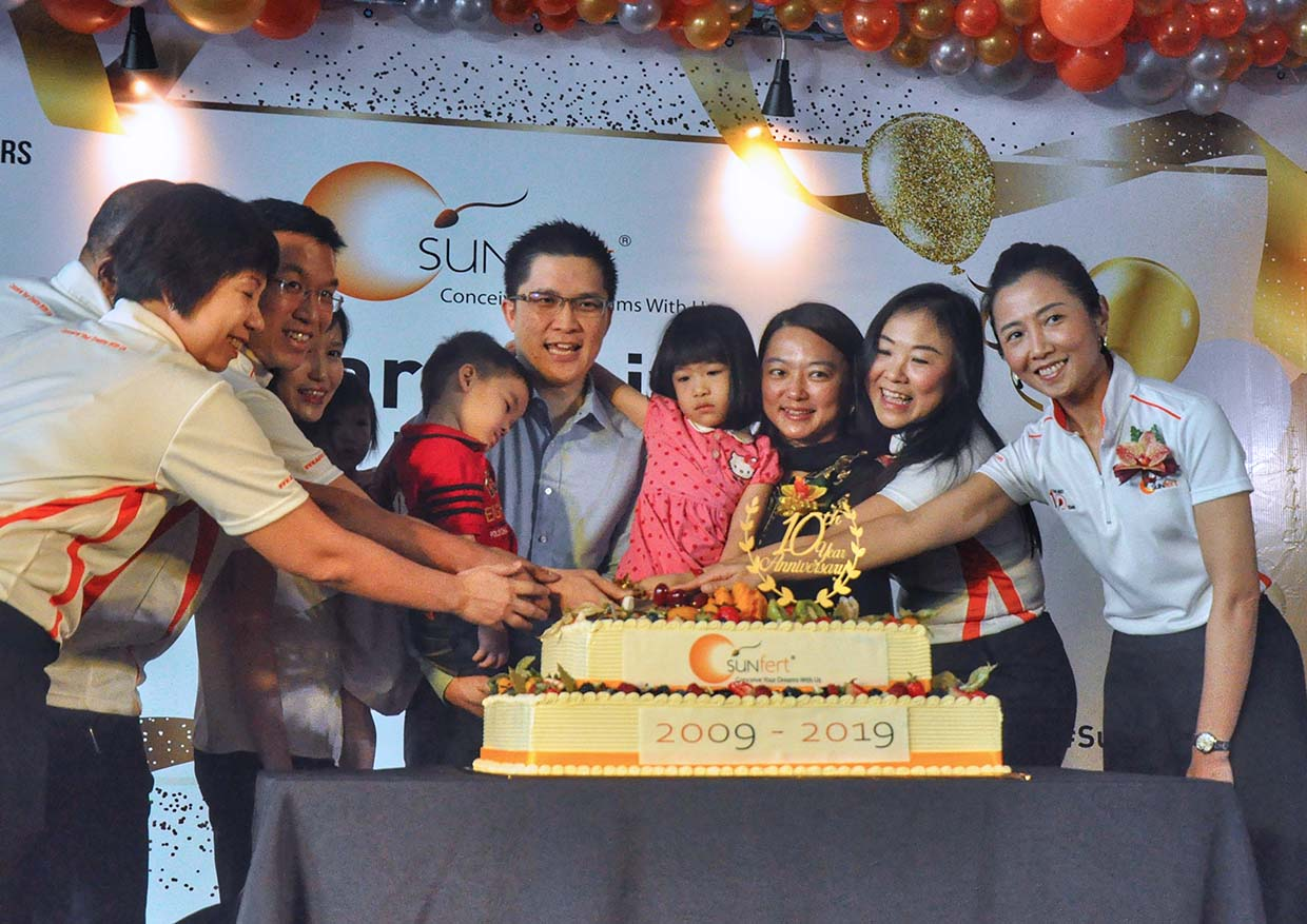 Sunfert Group Celebrates 10 Years of Conceiving Married Couples' Dreams