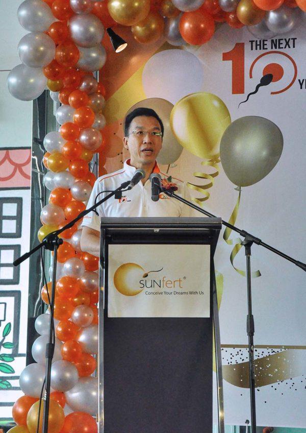sunfert group 10th anniversary bangsar south kuala lumpur dr wong pak seng