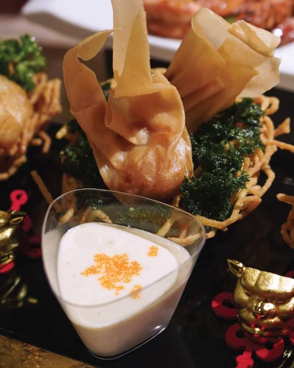 sunway putra hotel kuala lumpur cny reunion dinner buffet fried dumpling