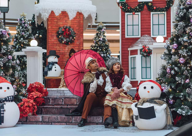 Christmas Wonders In White @ Suria KLCC, Kuala Lumpur