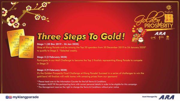 ara malls golden prosperity anyone can win cny campaign mechanism