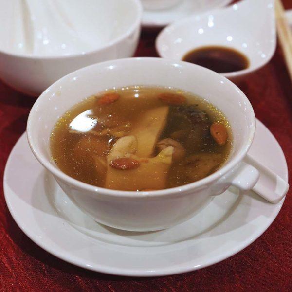 blossom dynasty kitchen berjaya times square hotel kl cny set menu soup