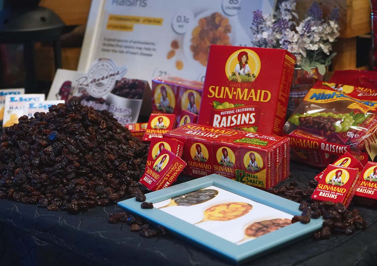 A Healthy & Tasty California Raisins Evening with Chef Emmanuel Stroobant