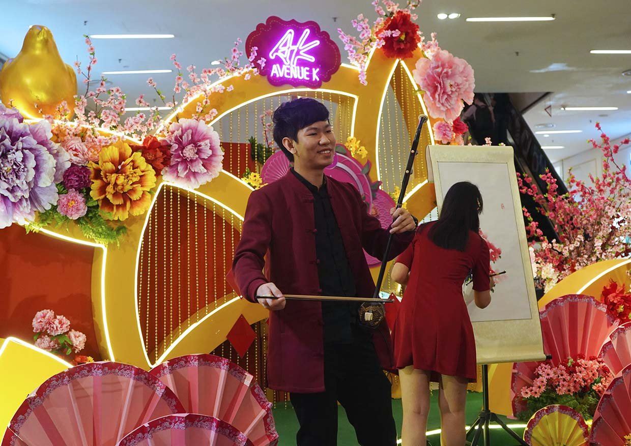 A Blooming New Beginning CNY Campaign @ Avenue K, Kuala Lumpur