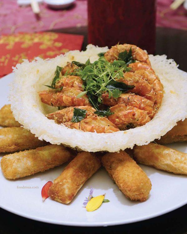 cny feast evolution cafe renaissance kuala lumpur hotel prawn