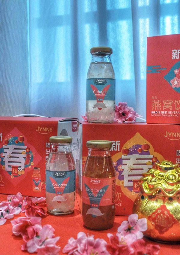 jin ye ye chinese new year hamper collagen drink