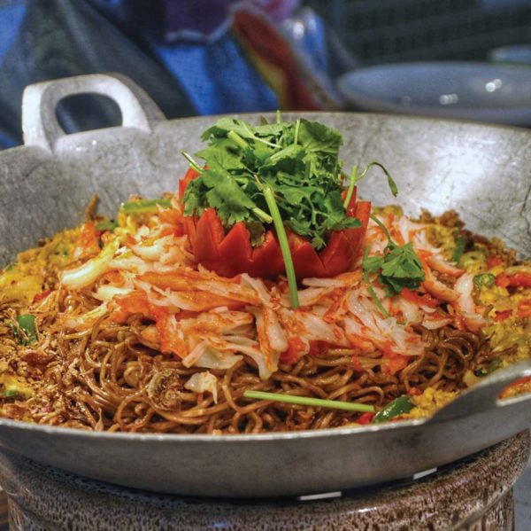 nook aloft kuala lumpur sentral cny buffet noodles