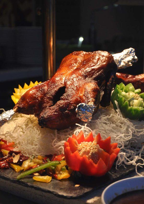 nook aloft kuala lumpur sentral cny buffet roasted duck