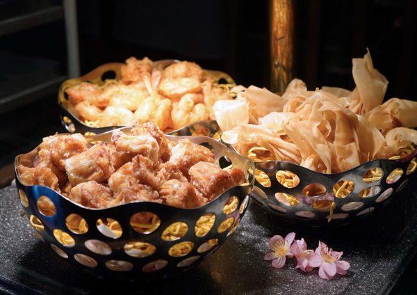 sunway putra hotel kuala lumpur cny reunion dinner buffet fried stuffs