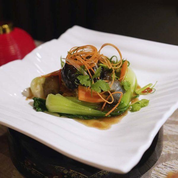 sunway putra hotel kuala lumpur cny reunion dinner buffet vegetables