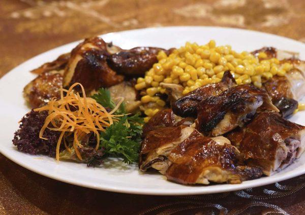 the emperor dorsett grand subang cny set menu chicken