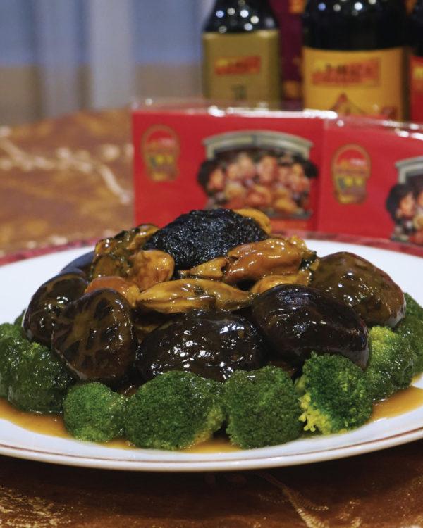 the emperor dorsett grand subang cny set menu dried oyster