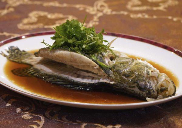the emperor dorsett grand subang cny set menu steamed fish