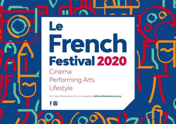 19th le french festival malaysia poster