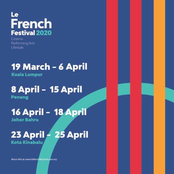 19th le french festival malaysia schedule