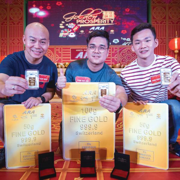 ara golden prosperity cny campaign grand final klang parade gold bar winners