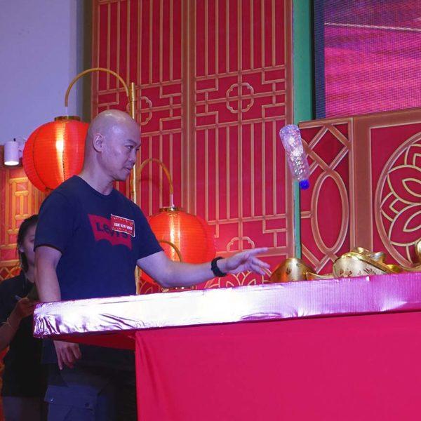 ara golden prosperity cny campaign grand final klang parade walk the bottle