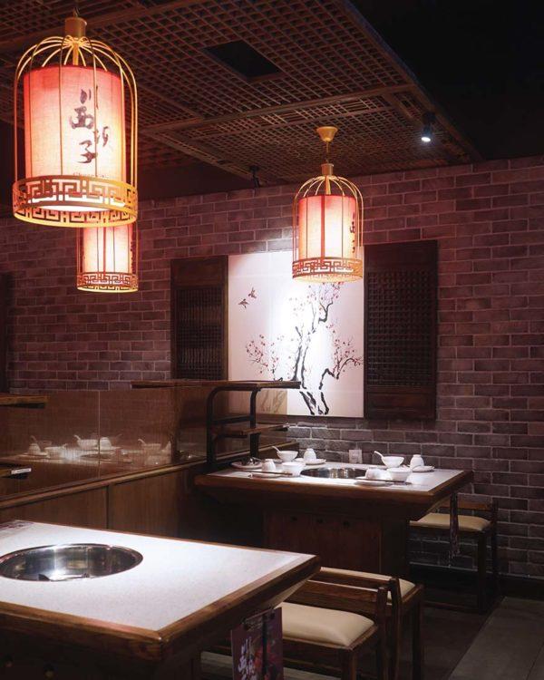 chuanxi bazi hotpot restaurant sunway velocity interior