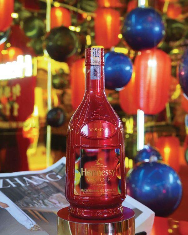 hennessy renewal of hope finale plaza arkadia desa parkcity zhang huan bottle design