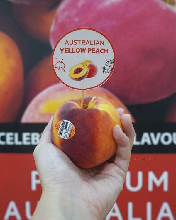 taste australia summerfruits yellow peach