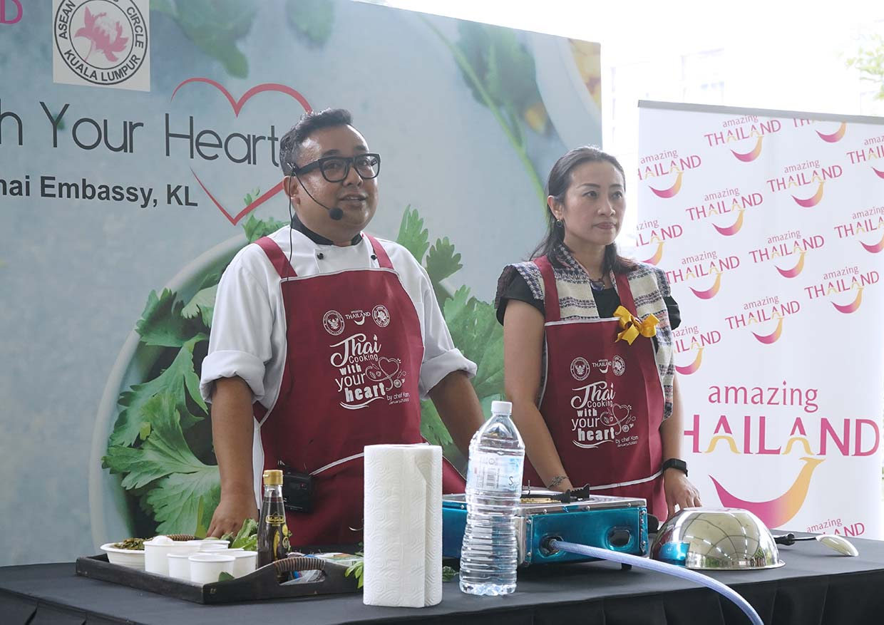 """Thai Cooking With Your Heart"" By Chef Korn @ Royal Thai Embassy Kuala Lumpur"