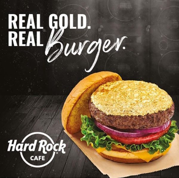 hard rock cafe malaysia new menu 24 karat gold leaf steak burger suka society