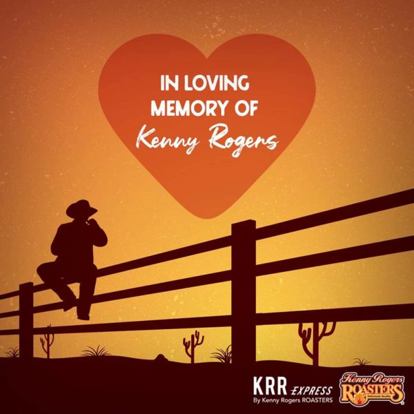 kenny rogers roasters rest in peace