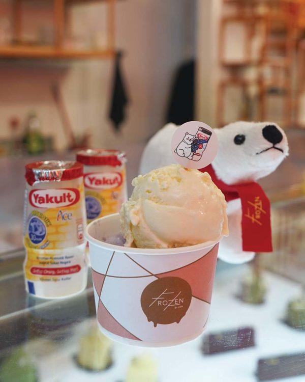 yakult ice cream frozen bangsar
