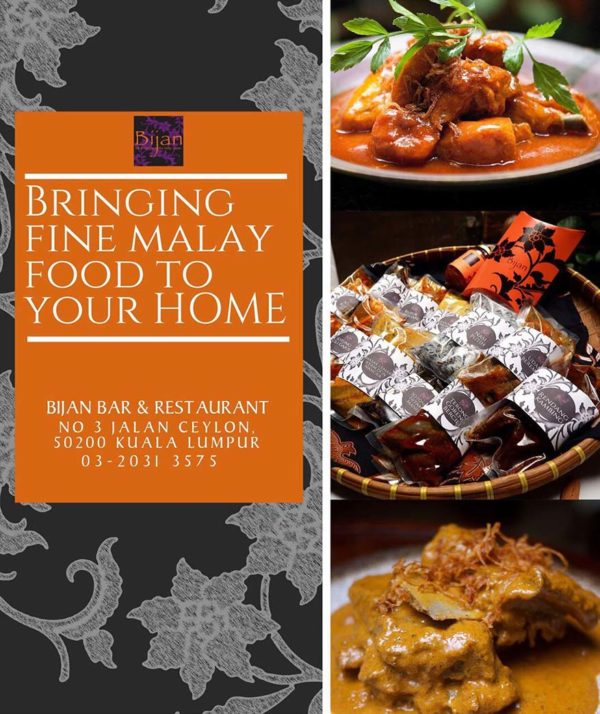 best of bijan luxury box bringing fine malay food to your home