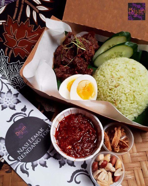 best of bijan luxury box santapan box nasi lemak rendang tok
