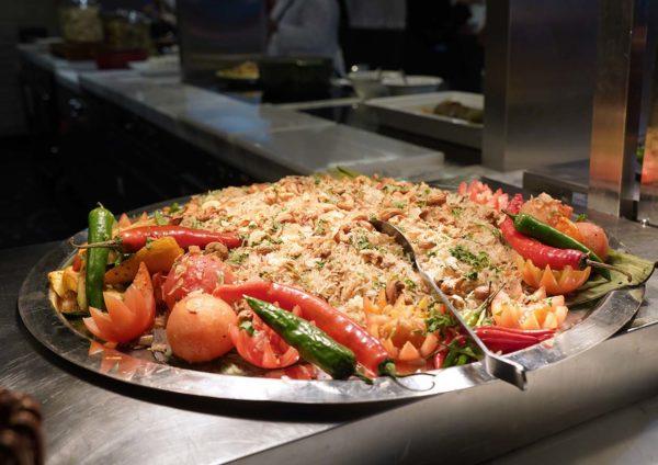 evolution cafe renaissance kl hotel selera a la kampung ramadan buffet rice
