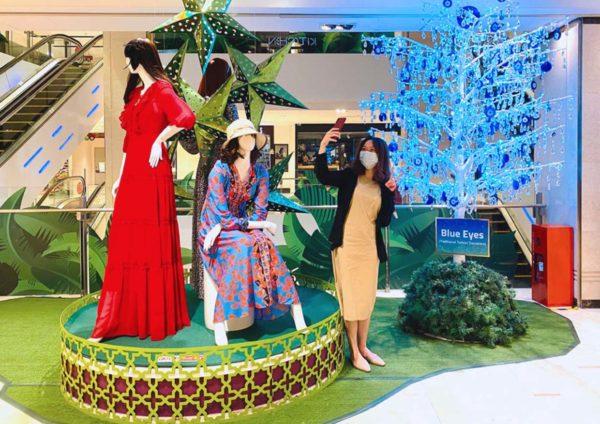 fahrenheit88 kuala lumpur raya berseri-seri mall decoration
